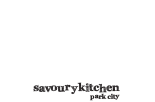 Savoury Kitchen, Park City's Premier Catering Company. Hot Food for Delivery or Pickup
